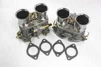 2PCS LOT High Quality NEW 48 IDF Oem Carburetor Air Horns Replacement For Solex Dellorto Weber