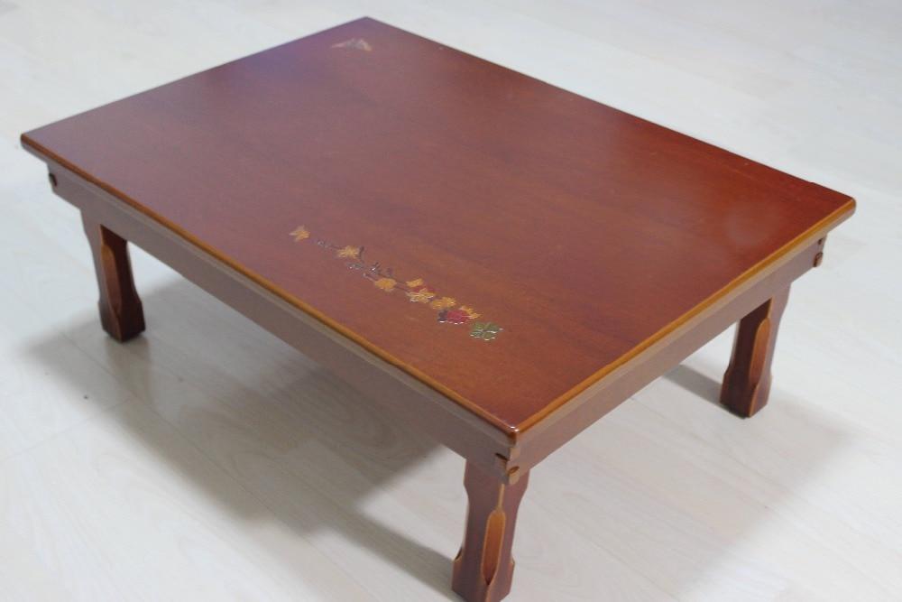 korean compact folding table rectangle 7050cm living room traditional antique korean oriental design furniture asian style furniture korean antique style 49