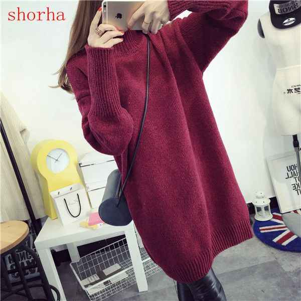 Fashion Autumn Winter Maternity Sweaters Loose Clothes for Pregnant Women Pregnancy Pullovers Dress Maternity Clothing