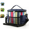 2015 Hot Picnic Insulation Lunch Bag Men and Women Colorful Thermal Cooler Bag Ice Bag Shoulder Portable Lunch Box Bags