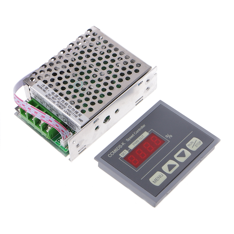 цена на 12-80V PWM 30A DC Motor Speed Controller Governor With Digital Display Panel Dls HOmeful