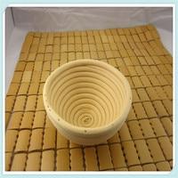 13x6 센치메터 Banneton Brotform 작은 라운드 Dougn 빵 교정 증명 바구니 무료 P & P