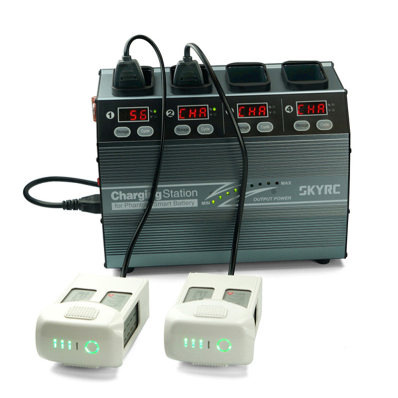Hot New SKYRC 4P3 SK-100118 4 In 1 Battery Charger For DJI Phantom 3 4 For RC Quadcopter parts