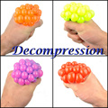 Decompression Grape Ball Unlimited Pinch Bad Trick Tricky Release Anger Toys Funny Creative Vent Water Polo