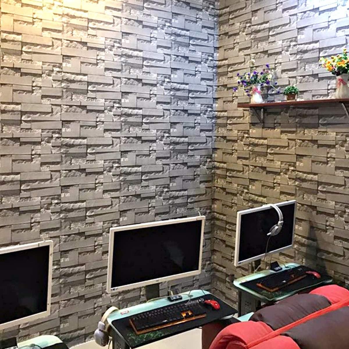 3d Rolo De Papel De Parede Quarto Sala De Estar Mural Moderno  ~ Mural De Fotos Na Parede Do Quarto