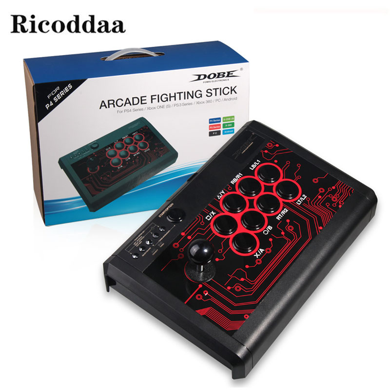 Multifonction Pour PS4 Arcade Combat au Bâton Joystick Pour Sony Playstation3/PS4/Mince/Pro/XBOX ONE S /XBOX 360/PC/Android/Commutateur