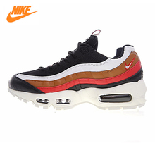 NIKE AIR MAX 95 Men's Vintage Running Shoes , Outdoor Sneakers Shoes, Khaki,  Abrasion Resistant  Non-slip Warm  AJ4077-002