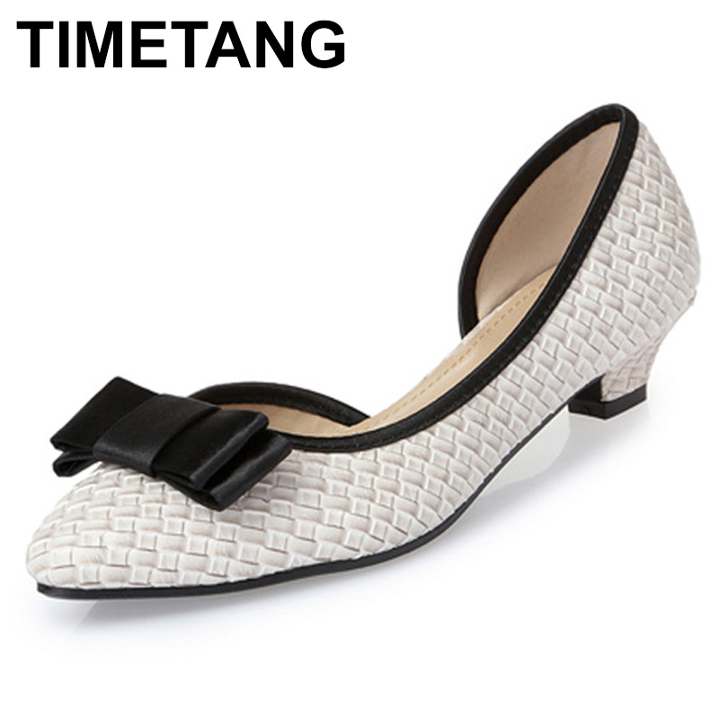 TIMETANGPlus Size Fashion Women Shoes Comfortable Womens Flats Lovely Bowknot Decoration FlatShoes PointedToe Casual ShoesE643TIMETANGPlus Size Fashion Women Shoes Comfortable Womens Flats Lovely Bowknot Decoration FlatShoes PointedToe Casual ShoesE643