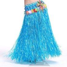 1Pcs 40cm-80CM A single layer women Hawaiian Hula Skirt Suit
