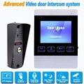 Video Door Phone Wired 4 inch Doorbell Monitor Video Intercom 800 TVL IR Camera Support Security CCTV Camera&SD Card F1368D