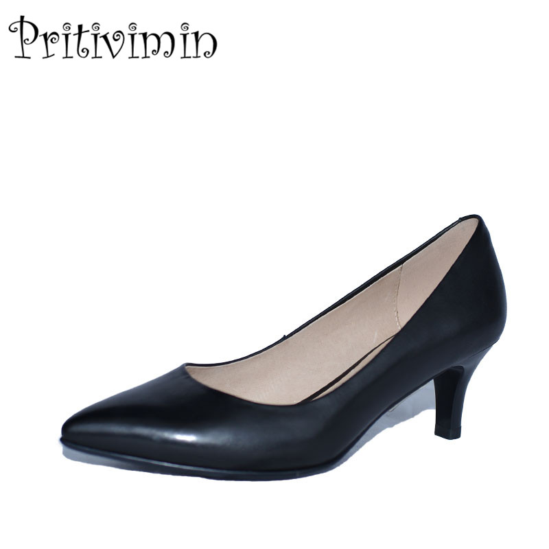 2018 ladies pointed toe thin high heel handmade shoes women sheepskin leather heels girls fashion designer pumps Pritivimin FN9 2017 ladies round toe handmade shoes women genuine leather high heels girls fashion spring autumn office pumps pritivimin fn20