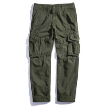 2018 tactical War Game Cargo pants mens baggy Casual Pants mens trousers Army military Active pants Japanese Hip Hop Joggers 40