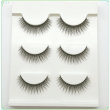 Nude Makeup Realistic Three-dimensional Multi-layer Thick Natural Soft Slim Girl False Eyelashes