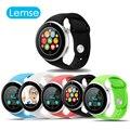 Lemse C5 MTK2502 Bluetooth Спорт Smart Watch 1.22TFT Круговой Экран Поддержка Nano Sim-карты для Android IOS