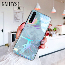 Laser Marble Case For Huawei Mate 20 Lit