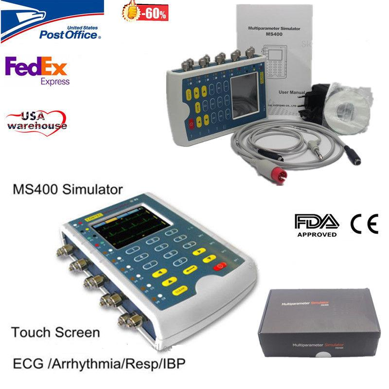CONTEC MS400 Portable Multiparameter Touch Color Patient Monitor Simulator