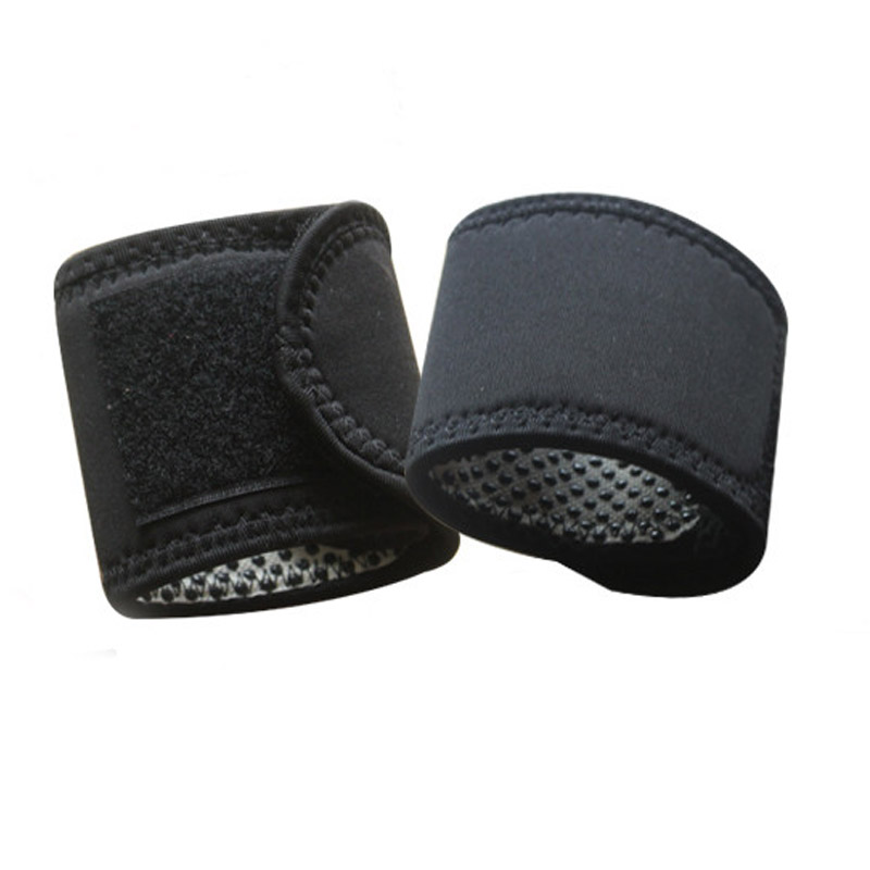 Hot Sale 1 Pair Tourmaline Self Heating Magnetic Therapy Wrist Brace Protection Belt Spontaneous Heating Massager Health Care