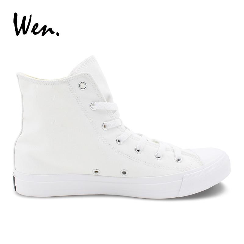 Wen White Canvas Shoes Original Design