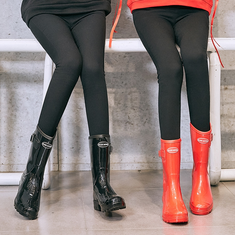 2018 Summer New Fashion, Simple And Mature Rain Boots Soft Bottom Anti Slip Wate