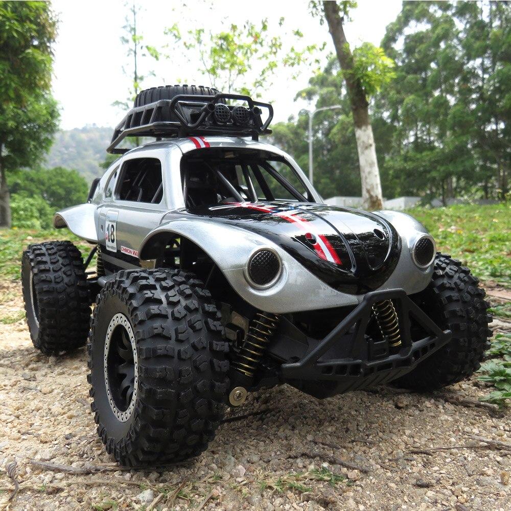 все цены на Flytec High-Quality Remote Control Car 1/14 2.4GHz 25km/H Independent Suspension Spring Off Road Vehicle RC Crawler Car Toy онлайн
