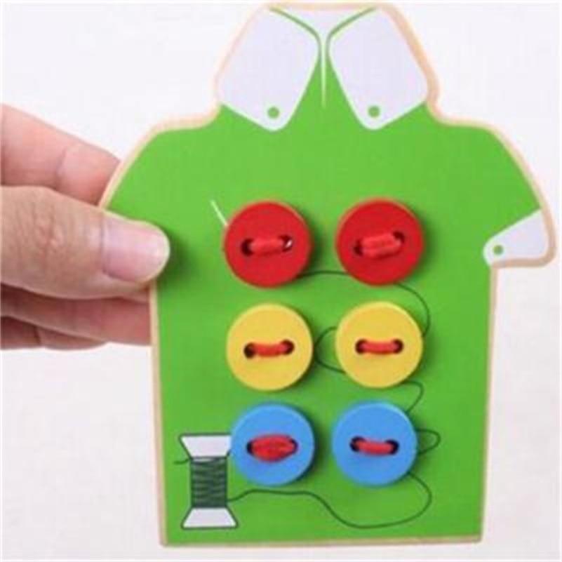 Kids Montessori Educational Toys Children Beads Lacing