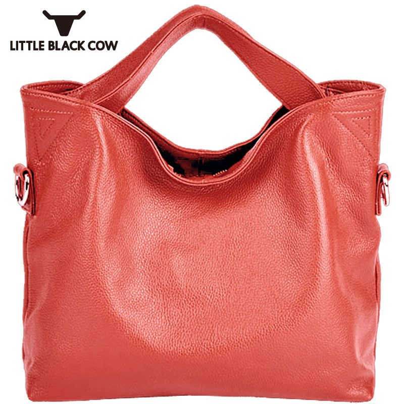 Big Office Lady Womens Handbags Clutch Female Bucket Bag Torebki Damskie Genuine Leather Casual Tote Bags For Women Eight ColorsBig Office Lady Womens Handbags Clutch Female Bucket Bag Torebki Damskie Genuine Leather Casual Tote Bags For Women Eight Colors
