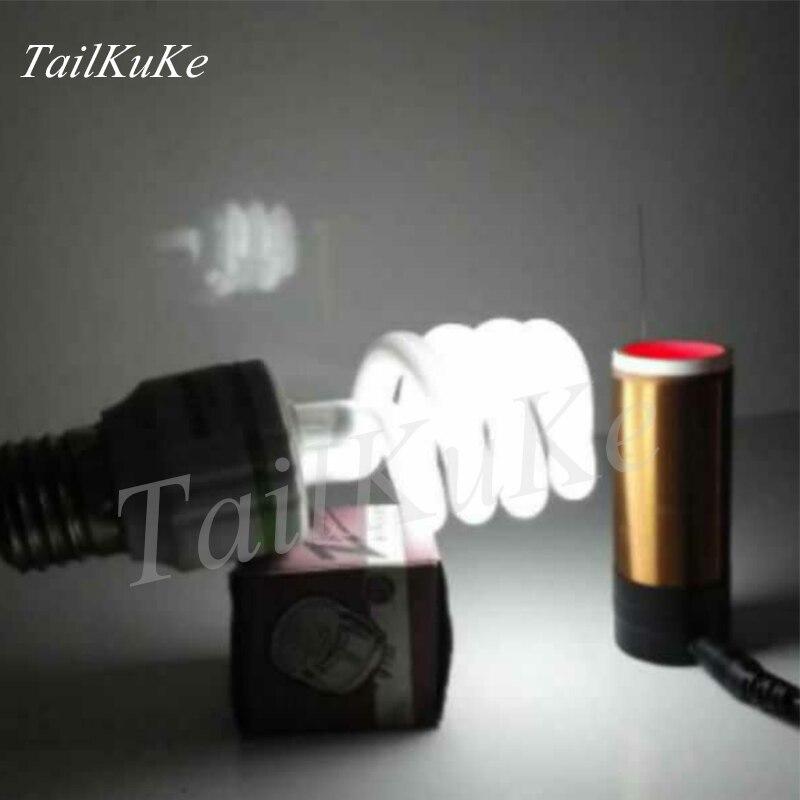 Electronic Toys / Mini Tesla Coil / Wireless Transmission / Diaphragm Lighting / Electronic Production Diy/ Mini