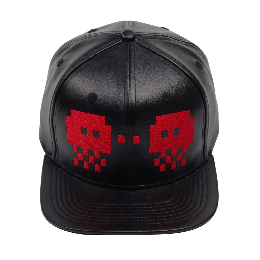 Splatoon 2 Skalop Jellyvader Hats Black Leather Baseball Caps Embroidery Adjustable Flat Bill Cap Adult Kids Party Accessories in Boys Costume Accessories from Novelty Special Use