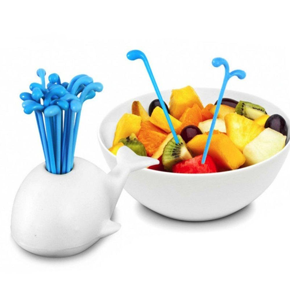 Aliexpress.com : Buy Animal Whale Shaped Fruits Fork Bento ...