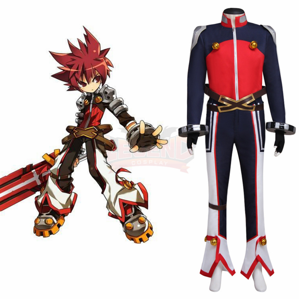 Elsword Cosplay Costume Cosplay Costume Outfit Halloween Adult Costume Custom Made