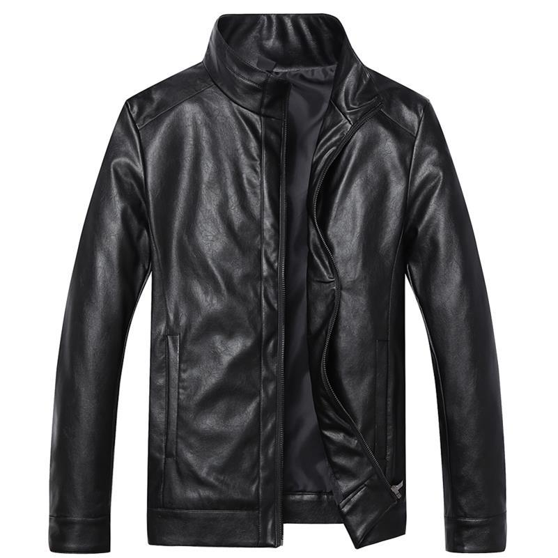 Ingenious Plus Size 9xl 8xl 7xl 6xl 5xl Winter Autumn Brand Pu Leather Jacket Men Motorcycle Leather Jackets Overcoat Jaqueta High Quality Relieving Rheumatism And Cold