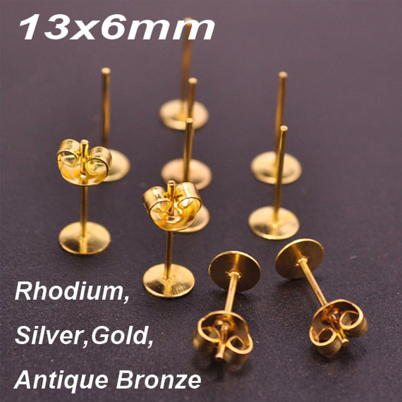 women flat alex solid nld ball plated jewelry earrings post simple stud hammered gold globular