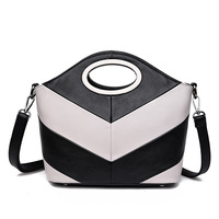 ICEV new casual small panelled shoulder bags for women leather handbag ladies office work clutch top handle bag designer quality