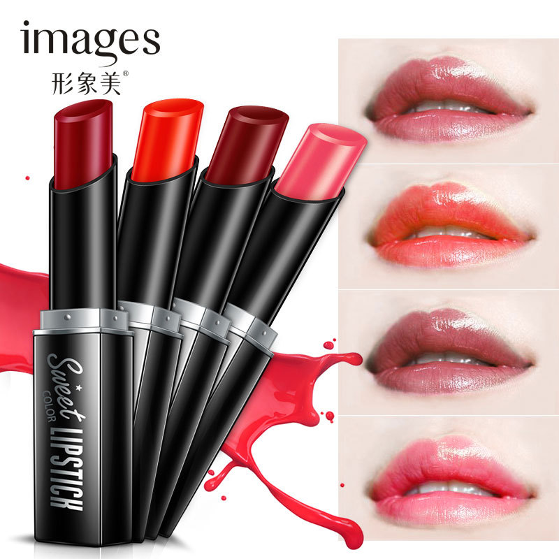 2018 New Arrival Moisturizing Full Size China Lipstick Easy to Draw Long Lasting Lipsticks Brand High Quality