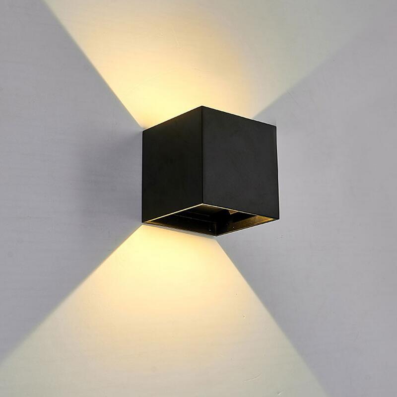 Φ ΦModerne LED Mur Lampe Pour Salle De Bains Chambre 10 W Applique