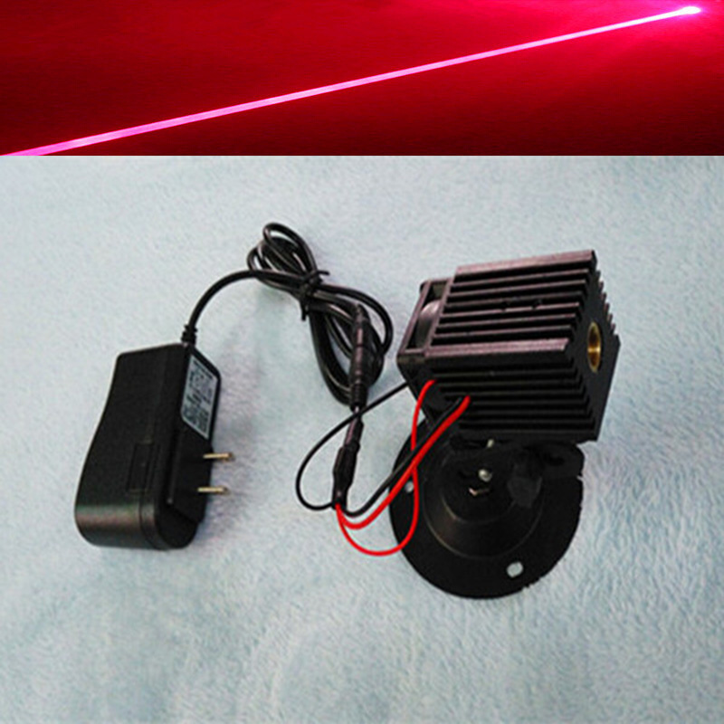 Laser Lamp Positioner Two-pole Module Red Light 650nm 5mw Laser Head Reasonable Dot-shaped Laser Tube Head