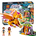 446 unids lava cueva del dragón de fuego 10503 modelo building blocks ladrillos regalos parque infantil niñas niños juguetes compatibles con lego elfos