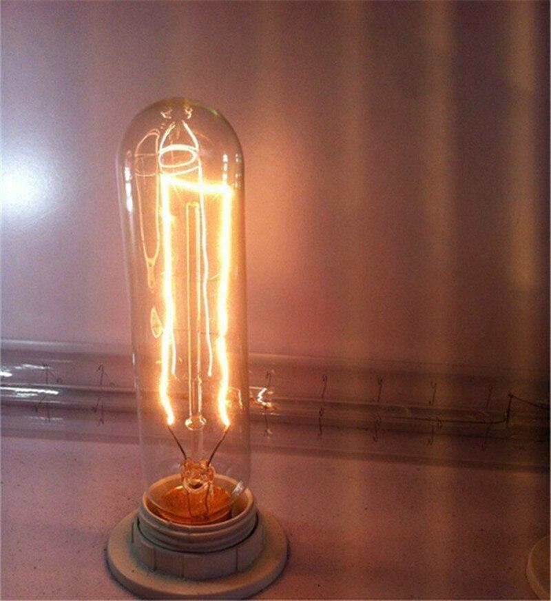 edison lâmpada do vintage pode ser escurecido