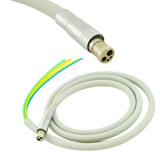 Dental handpiece tubos de manguera 4 AGUJEROS PARA Dental del Motor de la turbina de aire uso