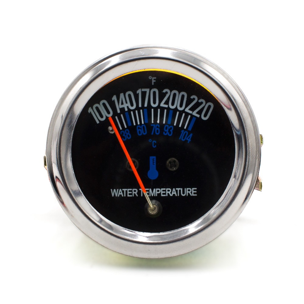 2 pulgadas 52mm 12V DC Mecánico eléctrico del coche Medidor de temperatura del agua Medidor de temperatura del agua con sensor TT101085
