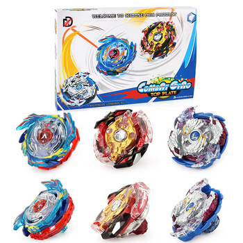 2 Styles Beyblade Set Spinning Top 3 Beyblades+2 Launchers Burst Metal Funsion 4D Fighting Gyro With Original Box Toys Gift #E beyblade set