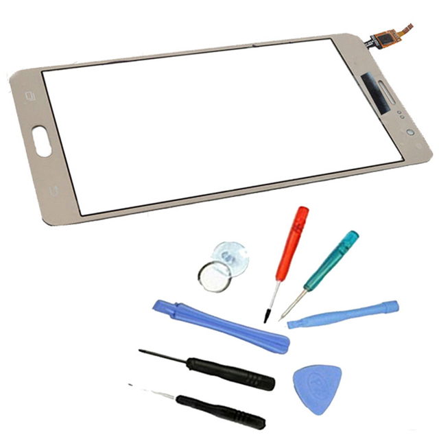 LINGWUZHE  Front Glass Digitizer Touch Screen 5.5 inch With Free Toolkit For Samsung Galaxy On7