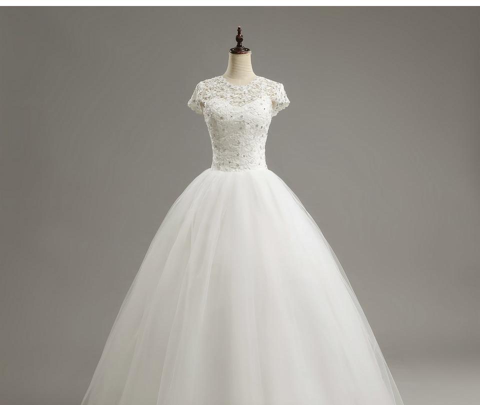 11 LAMYA Custom Size Romantic Lace Wedding Dress 2018 Fashionable Short Bride Gowns Cheap Bridal Dresses vestidos de novia