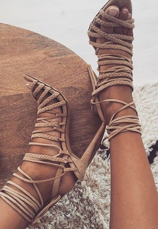 Newest Leather Braided Lace-up High Heel Sandal Summer Sexy Open Toe Gladiator Sandal Woman Cutouts thin heels tassel sandal hot selling black leather sandal high heel summer open toe chains decorations gladiator sandal woman cutouts thin heels shoes