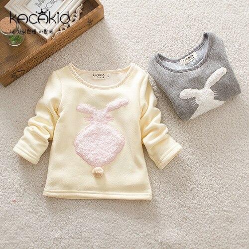 Kacakid-new-cute-baby-girls-shirts-kids-thick-cartoon-long-sleeved-T-shirt-plush-rabbit-Sweatshirts-children-cute-soft-coat-1
