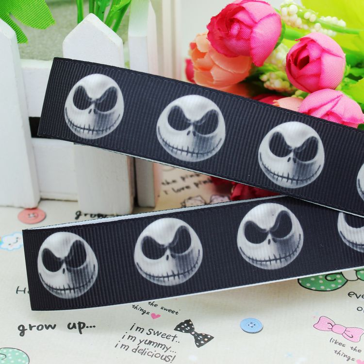 Popular Nightmare before Christmas Ribbon 22mm-Buy Cheap Nightmare ...