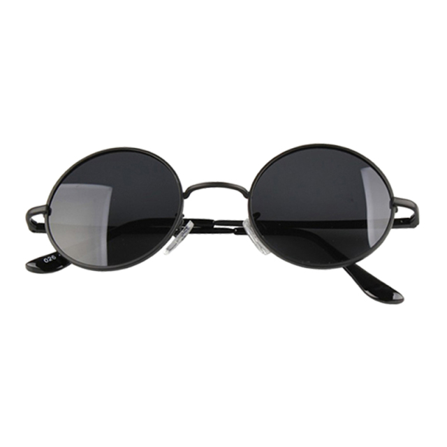 cfd5c1de6f2 Drop shipping Retro Black Sunglasses Men Small Round Sunglasses Women Metal  Frame Sun Glasses Gafas Gculos De Sol LS MPJ167 A2