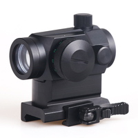 BIJIA Quick Fix Tactical Hunting Red Green Dot Reflex Sight Scopes With High/Low Dual Profile Rail Mount Airsoft Air Guns Rifle