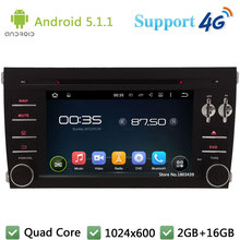 Quad Core 7″ 1024*600 Android 5.1.1 Car DVD Player Radio Stereo Screen FM DAB+ 3G/4G WIFI GPS Map For Porsche Cayenne 2003-2010
