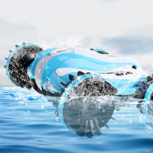 Rc Boat Radio Controlled Toys For Boys Brushless Mini Control Car Water Amphibious Remote